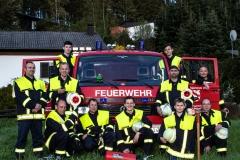 FFW Feuerwehr Meiserich Gruppenbild