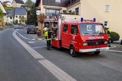 FFW Feuerwehr Meiserich Feuerwehrübung