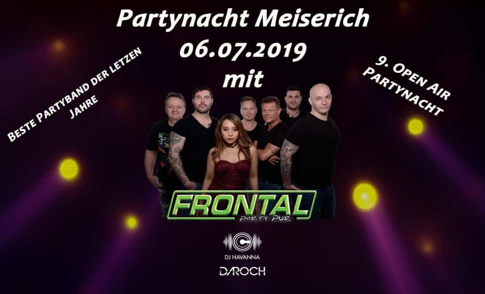 "9. Open Air Party mit ""Frontal-PartyPur"""